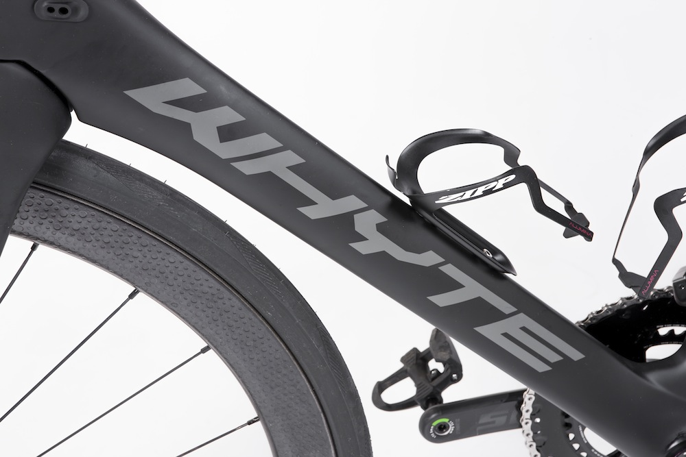 The Whyte Wessex features aero tube shapes
