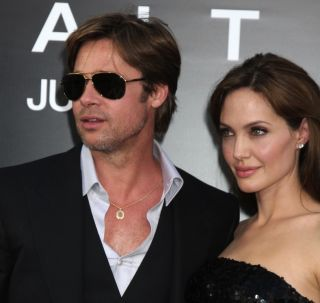 Brad Pitt and Angelina Jolie in 2010.