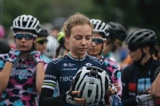 2019 road race champion Sarah Gigante (Team Tibco-SVB) took 18th place, but with it the silver medal in the under-23 competition