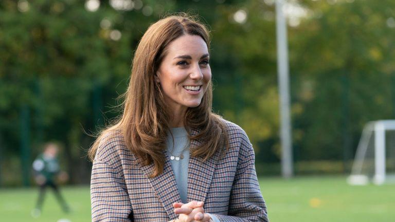 Duchess of Cambridge smiling