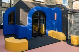 a bold side extension with curves and colour
