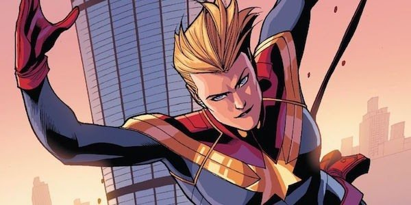 Captain marvel in the comics