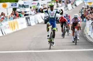 Biniam Girmay (Intermarché-Wanty-Gobert) wins the Classic Grand Besançon Doubs