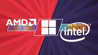 Intel AMD Windows 11 performance