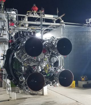 The first stage of Firefly Aerospace's Alpha rocket is powered by four Reaver engines.