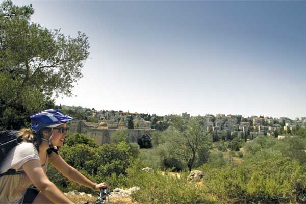 Cycling in Jerusalem