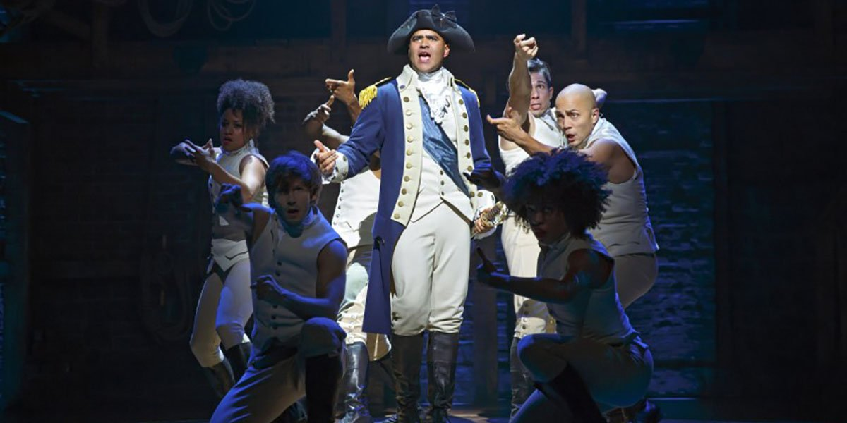 Hamilton's Christopher Jackson Reveals His Physical Response To Seeing The Disney+ Movie
