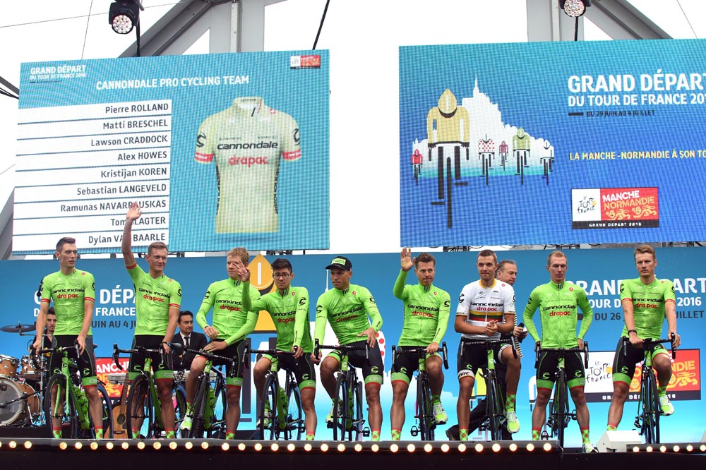 Cannondale-Drapac at the 2016 Tour de France