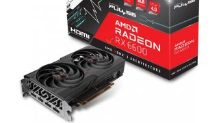 Sapphire Radeon RX 6600 Pulse leaked grab of box and the graphics card