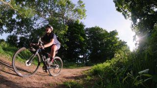 Mildred Locke gravel cycling