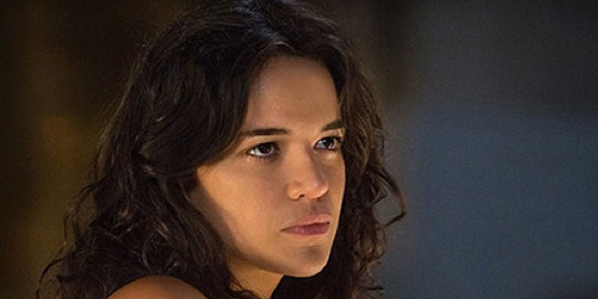 Michelle Rodriguez in the Fast and the Furious franchise