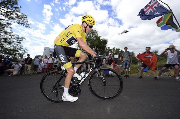 Tour De France Froome Mechanical