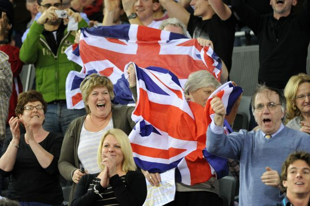 Crowd, London Track World Cup 2012, day two