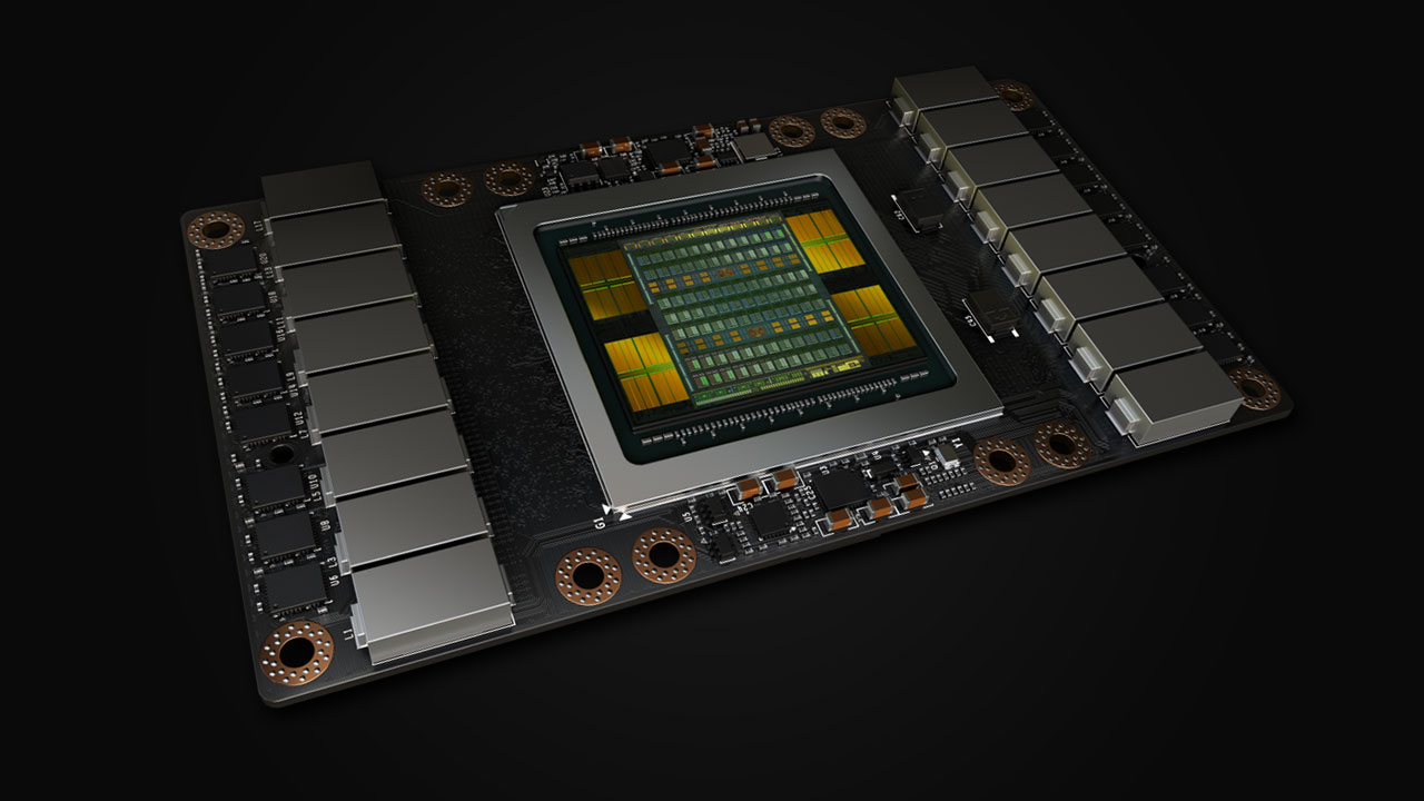 Nvidia reveals Volta GV100 GPU and the Tesla V100 | PC Gamer
