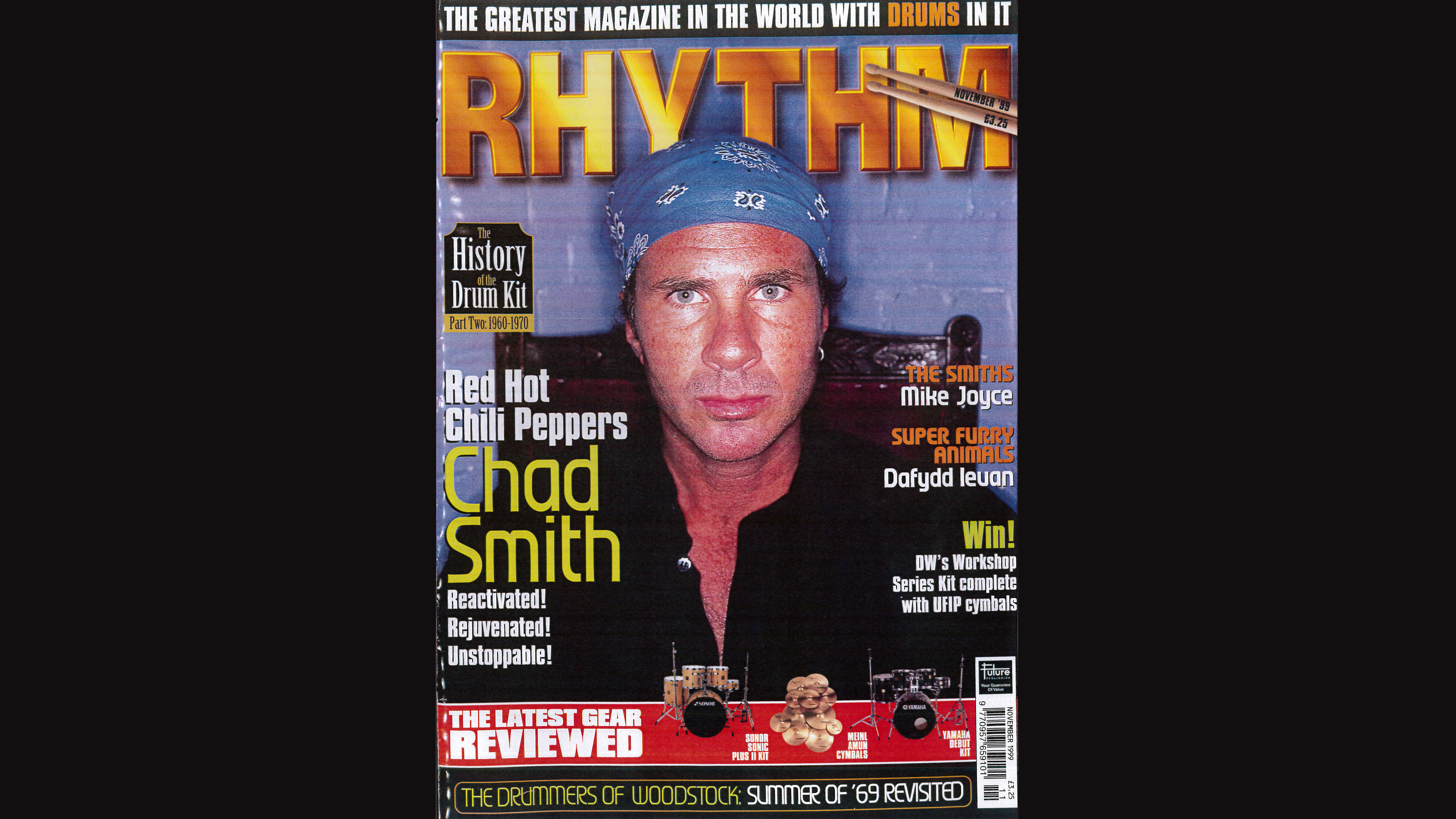 Classic interview: Red Hot Chili Peppers' Chad Smith on Californication | MusicRadar