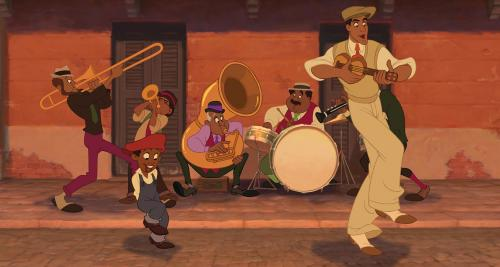 The Princess and the Frog - Incognito prince Raveen cuts loose in Disney's animated musical set in New Orleans