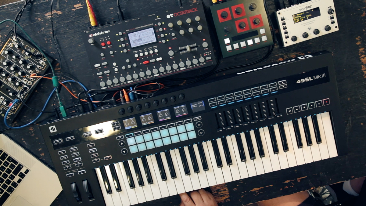 Watch the new Novation SL MkIII MIDI/CV controller in action