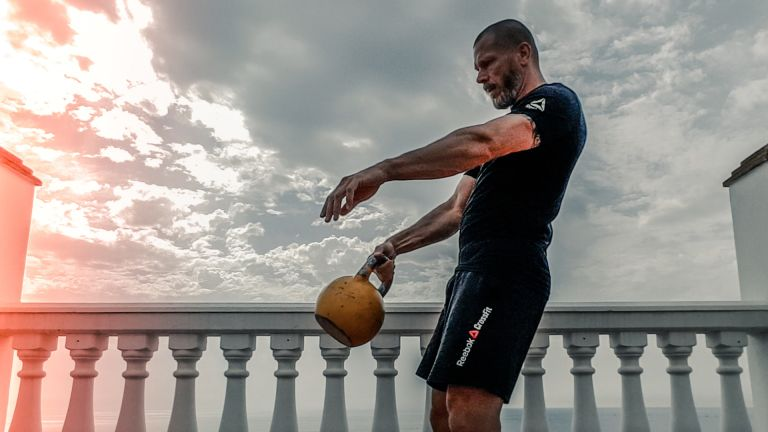 Kettlebell workout for full body activation