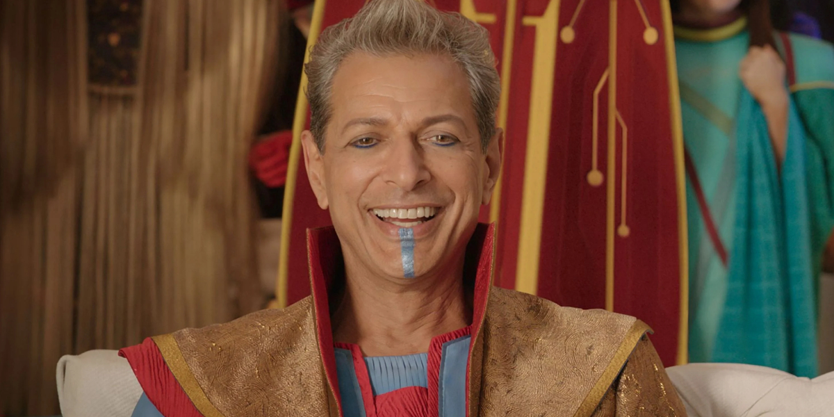 Jeff Goldblum in Thor: Ragnarok