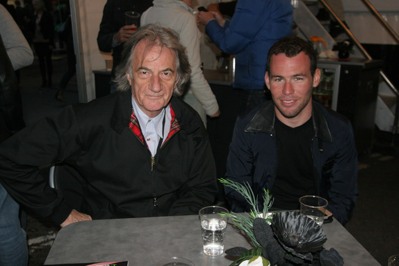 Sir Paul Smith and Mark Cavendish, Smithfield Nocturne 2010