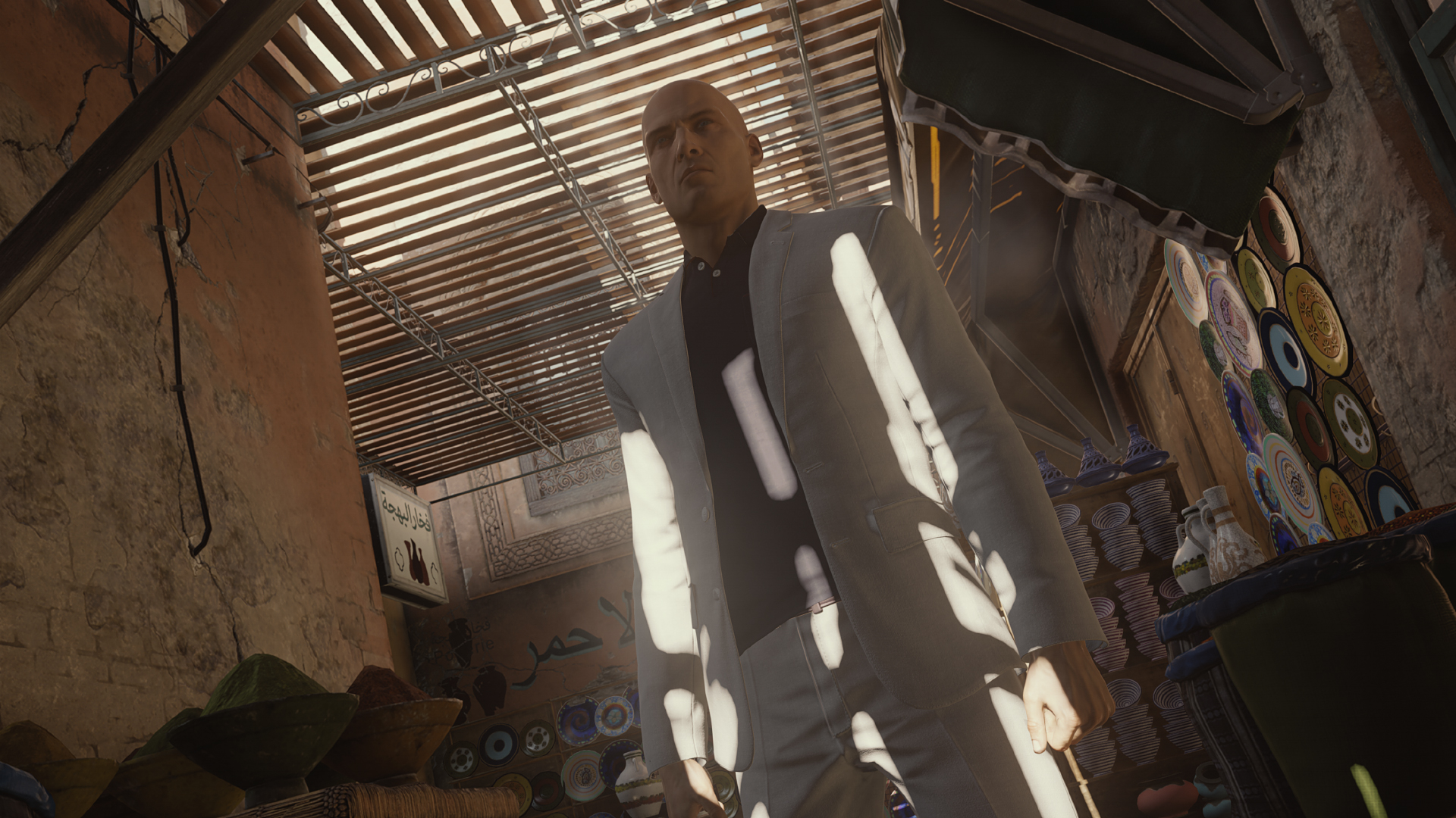 360 degree Hitman trailer shows off Marrakesh