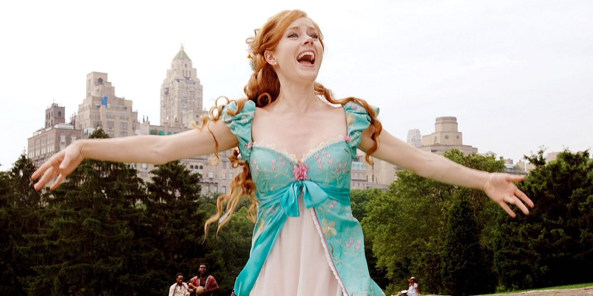 Amy Adams singing as Giselle in Enchanted