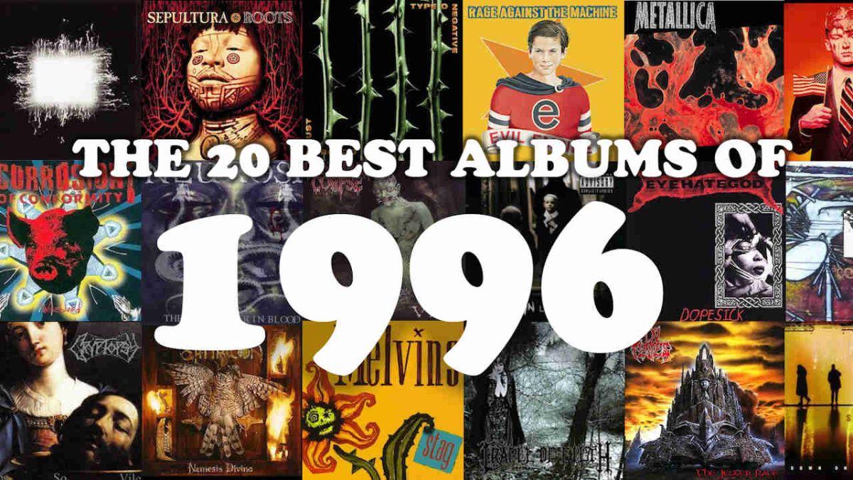 The Top 20 best metal albums of 1996