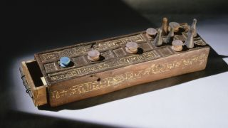 A senet game board may represent the changing meaning of the ancient Egyptian game.