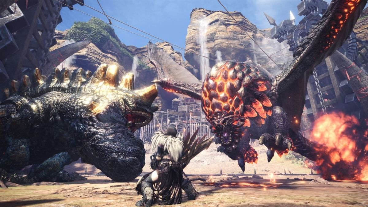 Tomorrow's Monster Hunter: World update will add 21:9 support