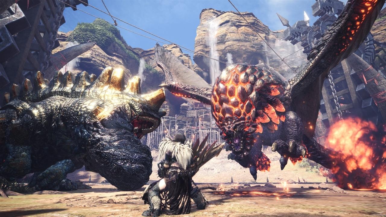 Tomorrow's Monster Hunter: World update will add 21:9 support   PC Gamer