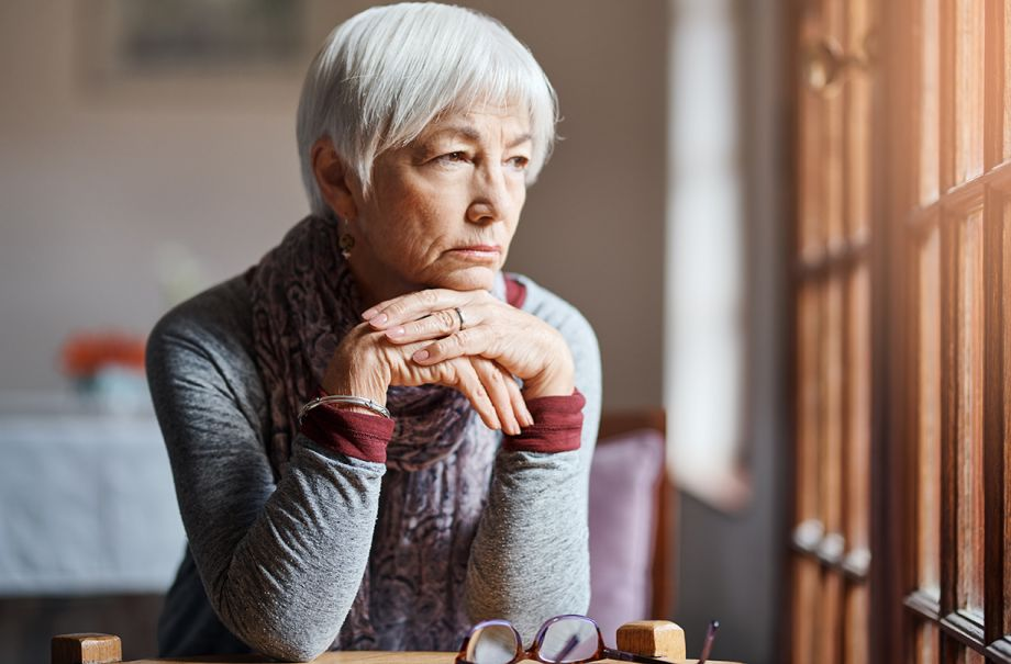 older people depression less likely mental health treatment
