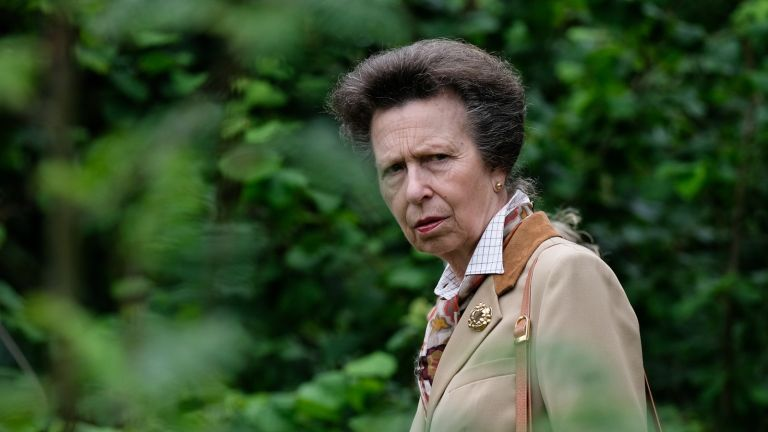 Princess Anne skipped university, Princess Royal visits the Valley Gardens in Saltburn-By-The-Sea to mark the 50th Anniversary of the Cleveland Way National Trail on July 19, 2019