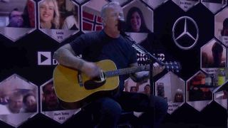 James Hetfield live and unplugged