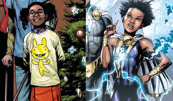 Darla Dudley in the Shazam comics