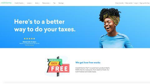Best Online Tax Filing 2020.Credit Karma Tax Review Techradar