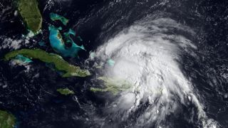 Hurricane Irene as a Category 2 hurricane on Aug. 23.