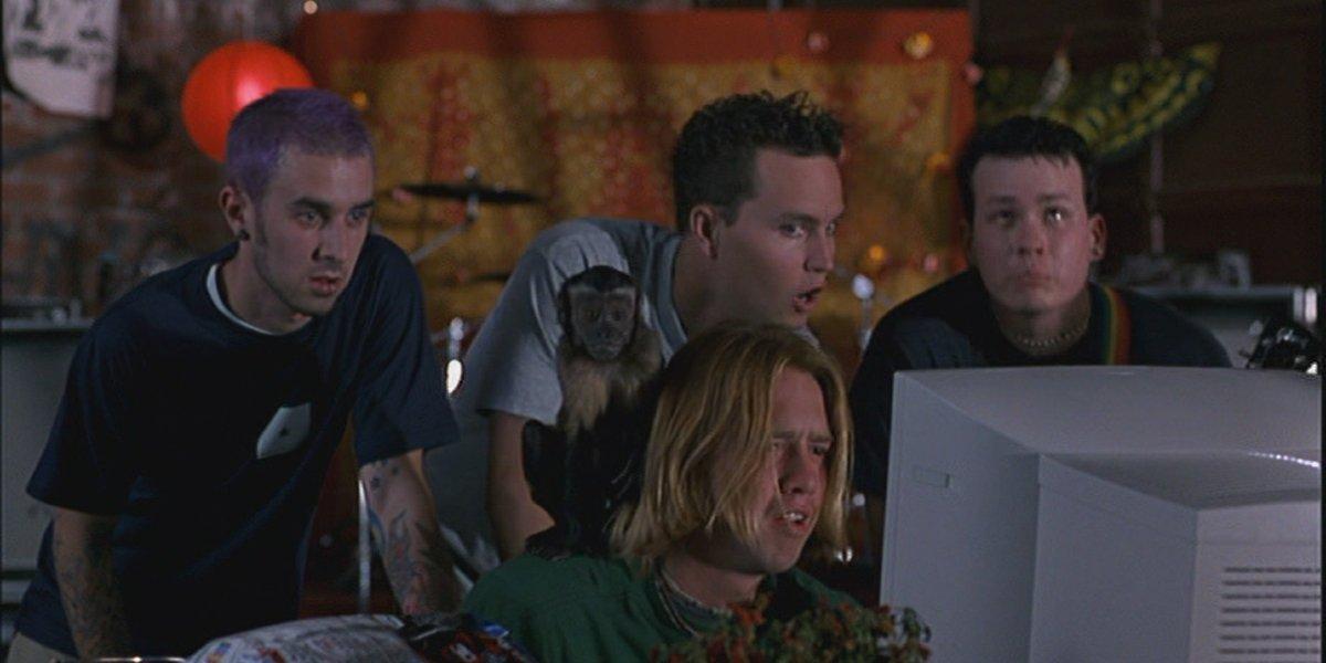 American Pie Blink 182 watching the webcam footage