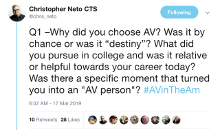 AVintheAM on careers