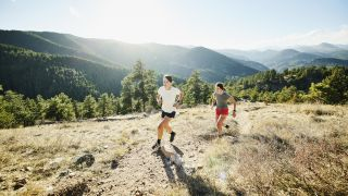 trail runners in Colorado