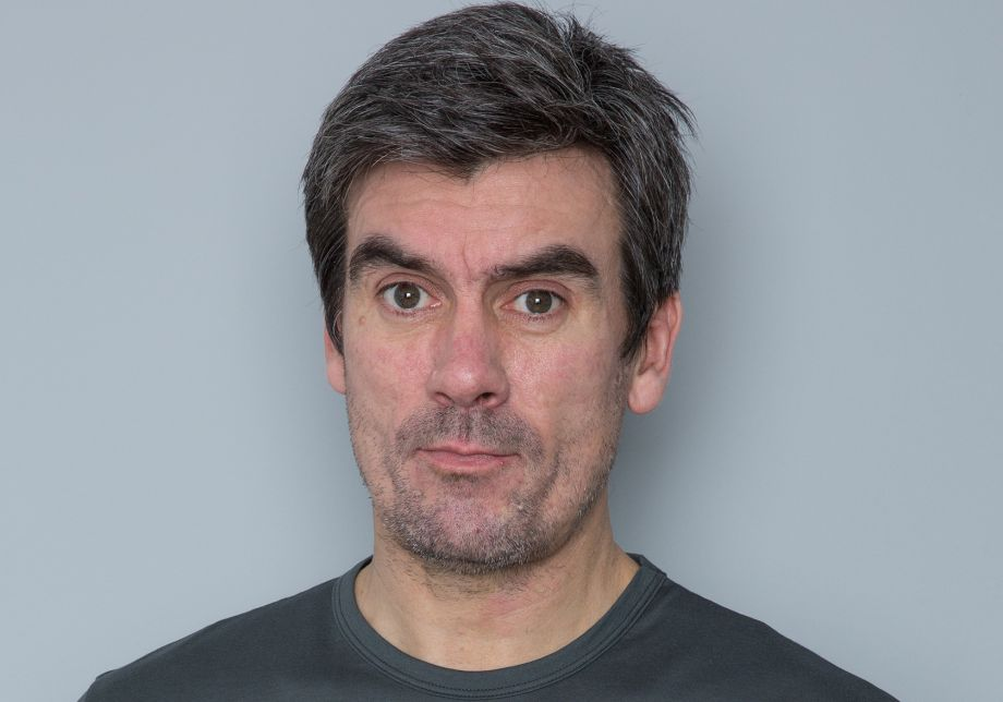 Cain Dingle, Emmerdale, posed, studio