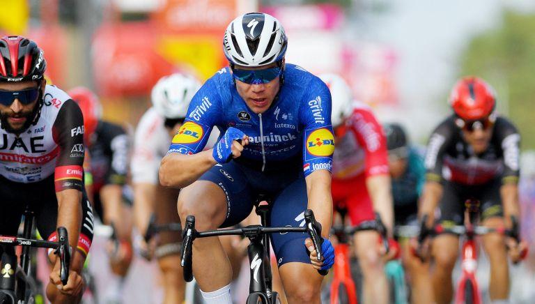 Fabio Jakobsen wins stage two of the Tour de Wallonie
