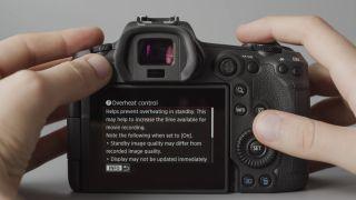 The Canon EOS R5 overheats when shooting 8K… AND when shooting 4K