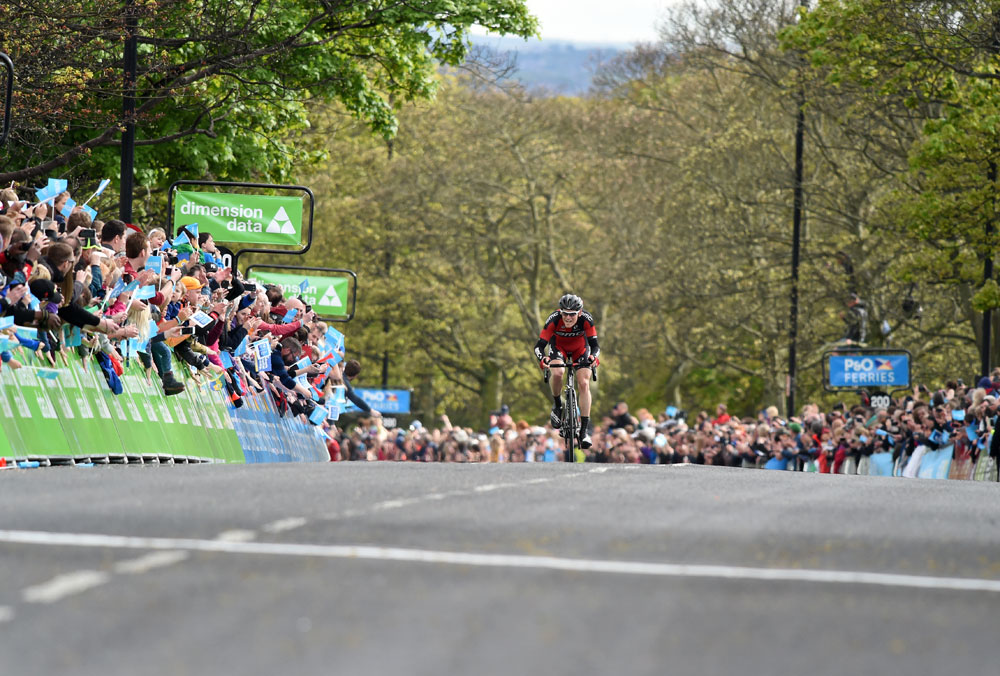 Ben Hermans, Tour de Yorkshire stage three