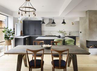 a kitchen renovation project