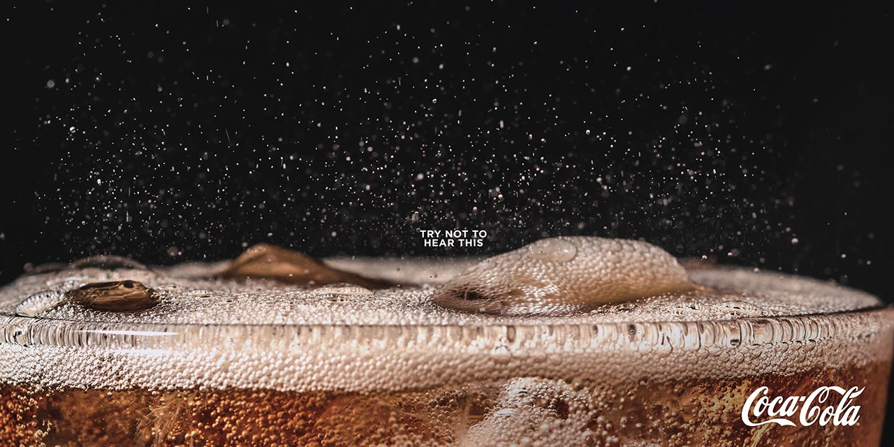 Coca-Cola launches print ads you can actually hear