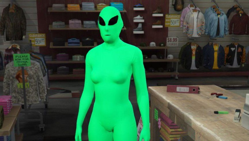 GTA Online's alien outfits are now free, so get out there and kill each other