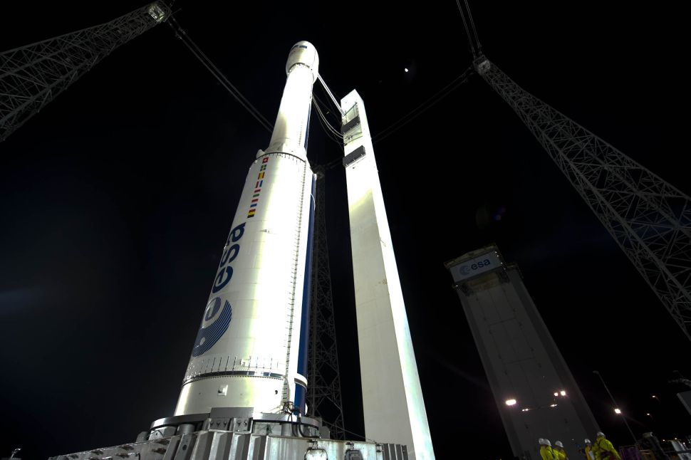 Vega rocket may attempt return to flight with 53-satellite launch tonight. Here's how to watch.