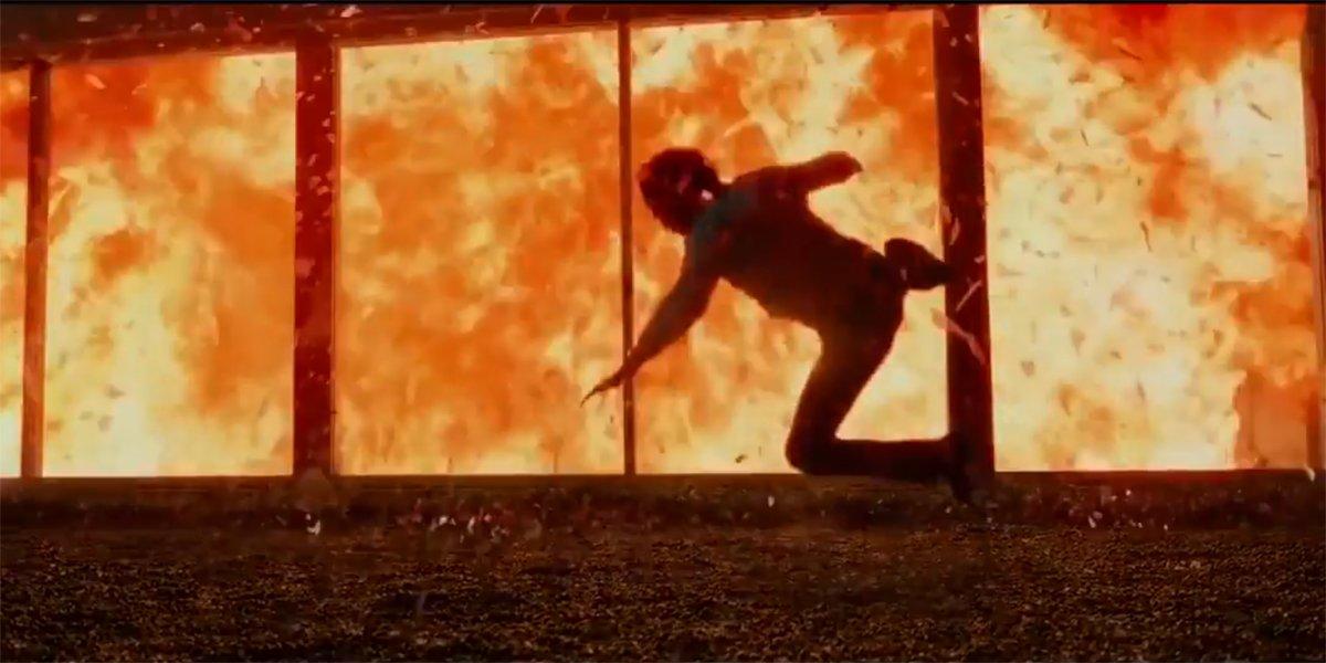 John Wick's house explodes