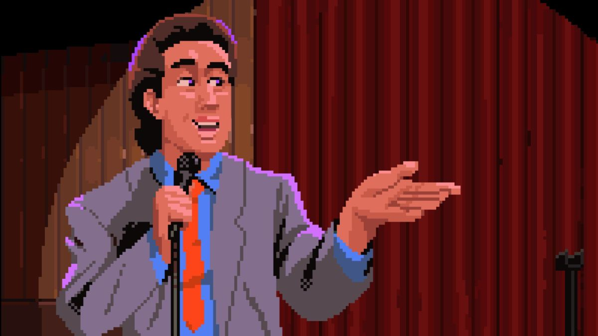Two indie devs are pitching a Seinfeld adventure game