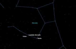 Asteroid Pallas, June 11, 2015